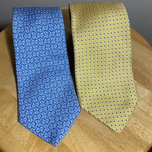 Brookes Brothers Makers Necktie Lot of 2